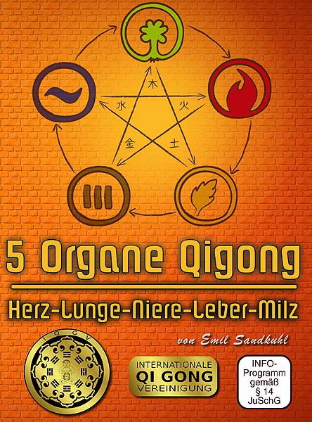 5 Organe Qigong Serie - Herz, Lungen, Nieren, Leber, Milz DVD