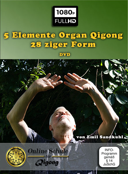 5 Elemente Organ Qigong – 28 ziger Form - DVD