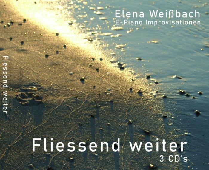 """E-Piano """"Fliessend weiter..."""" 3 Musik CDs"""