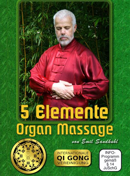 5 Elemente Organe Massage Qigong DVD